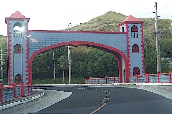 グアムのウマタック橋