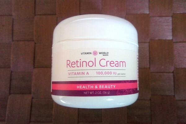 ビタミンワールドのレチノールクリーム