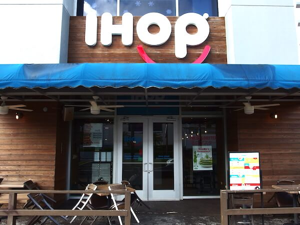 グアムの朝食はパンケーキで有名な「IHOP」で