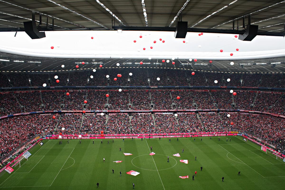ミュンヘンに来たらなサッカー!アリアンツ・アレーナでバイエルン・ミュンヘンを見てきた!
