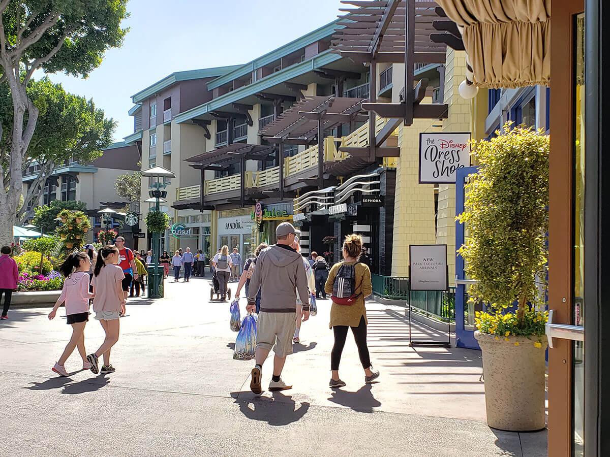 大人女子旅 アメリカ アナハイム Downtown Disney District(ダウンタウン ディズニー ディストリクト)