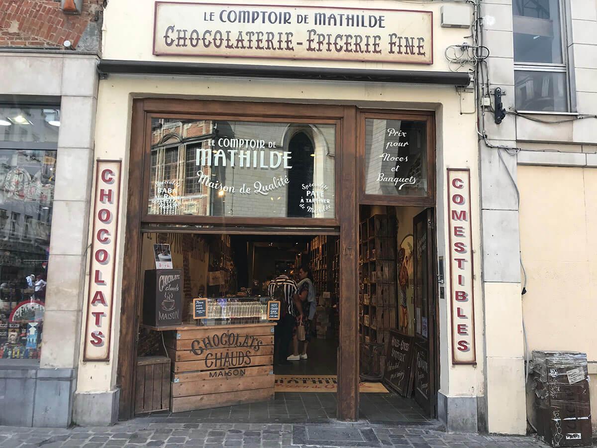 チョコレートの大国ベルギーのブリュッセルで見つけた「Le Comptoir de Mathilde」大人女子旅