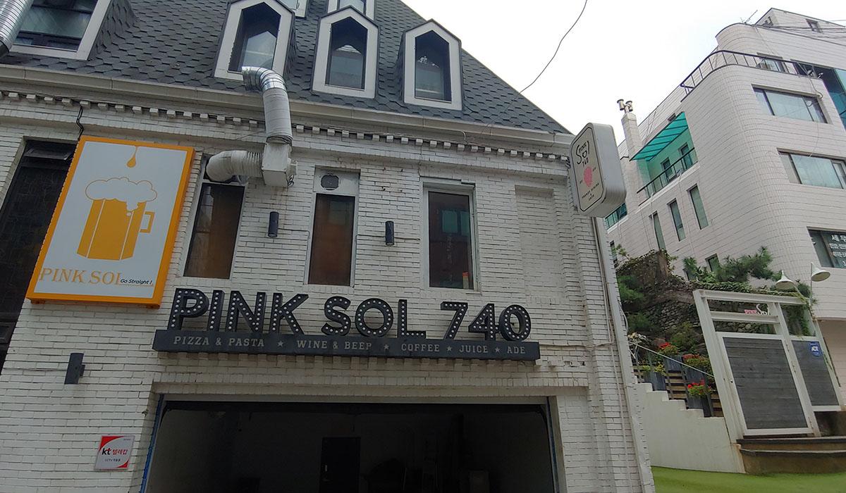 韓国江南でオシャレなイタリアンなら「ピンクソル740」がオススメ