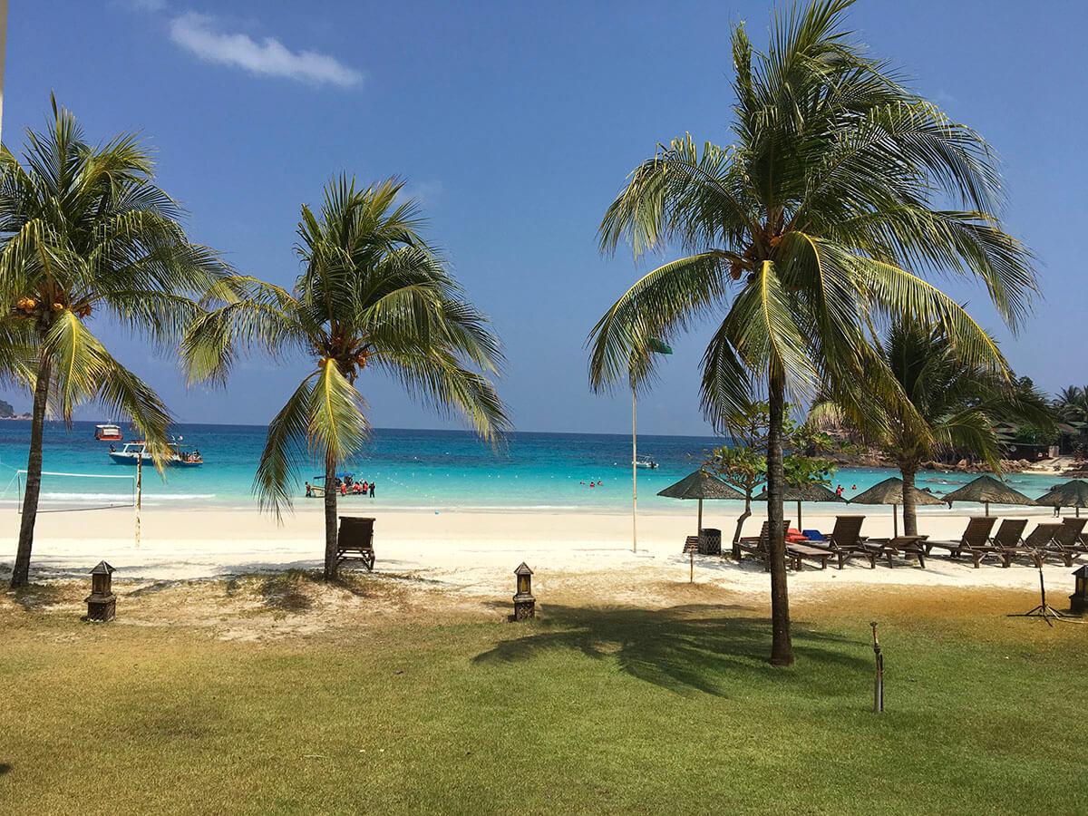 レダン島は東南アジアの中で最高のビーチ