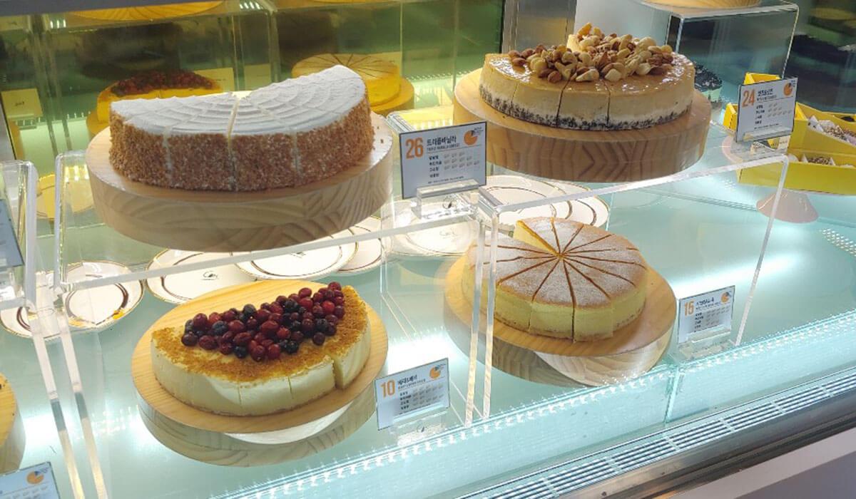 韓国カロスキルのオシャレなカフェ「C27」はチーズケーキ専門店♡