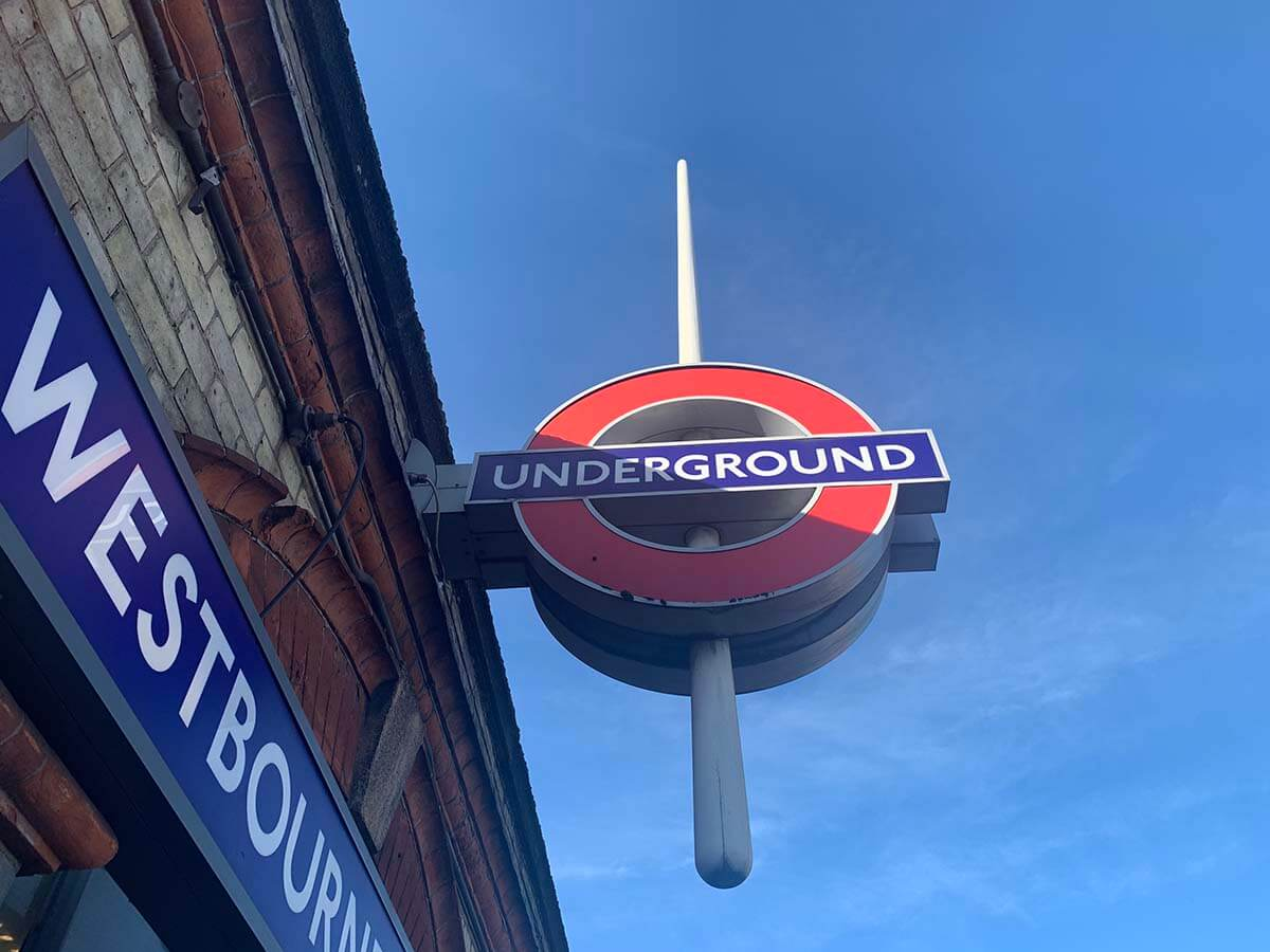ロンドン地下鉄の乗り方