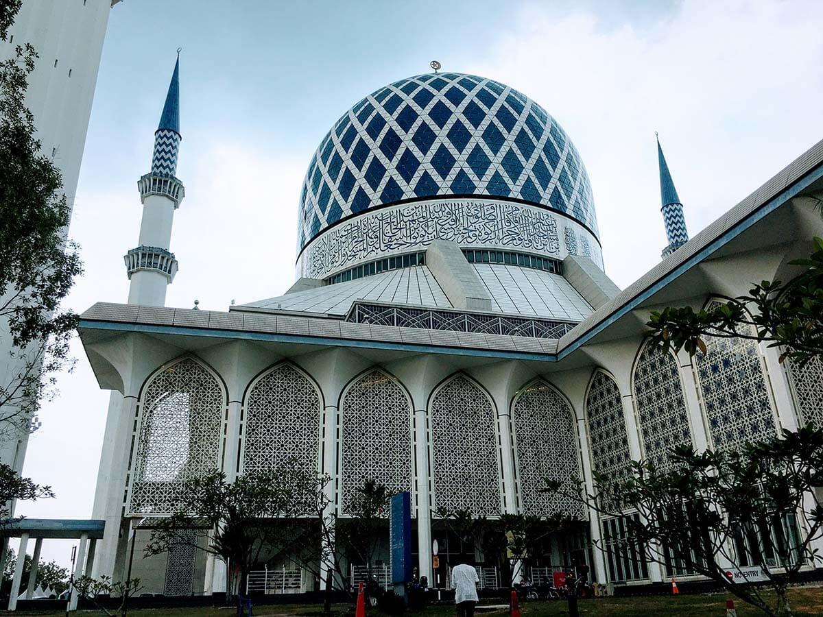 マレーシア クアラルンプールの観光スポットブルーモスクへの行き方