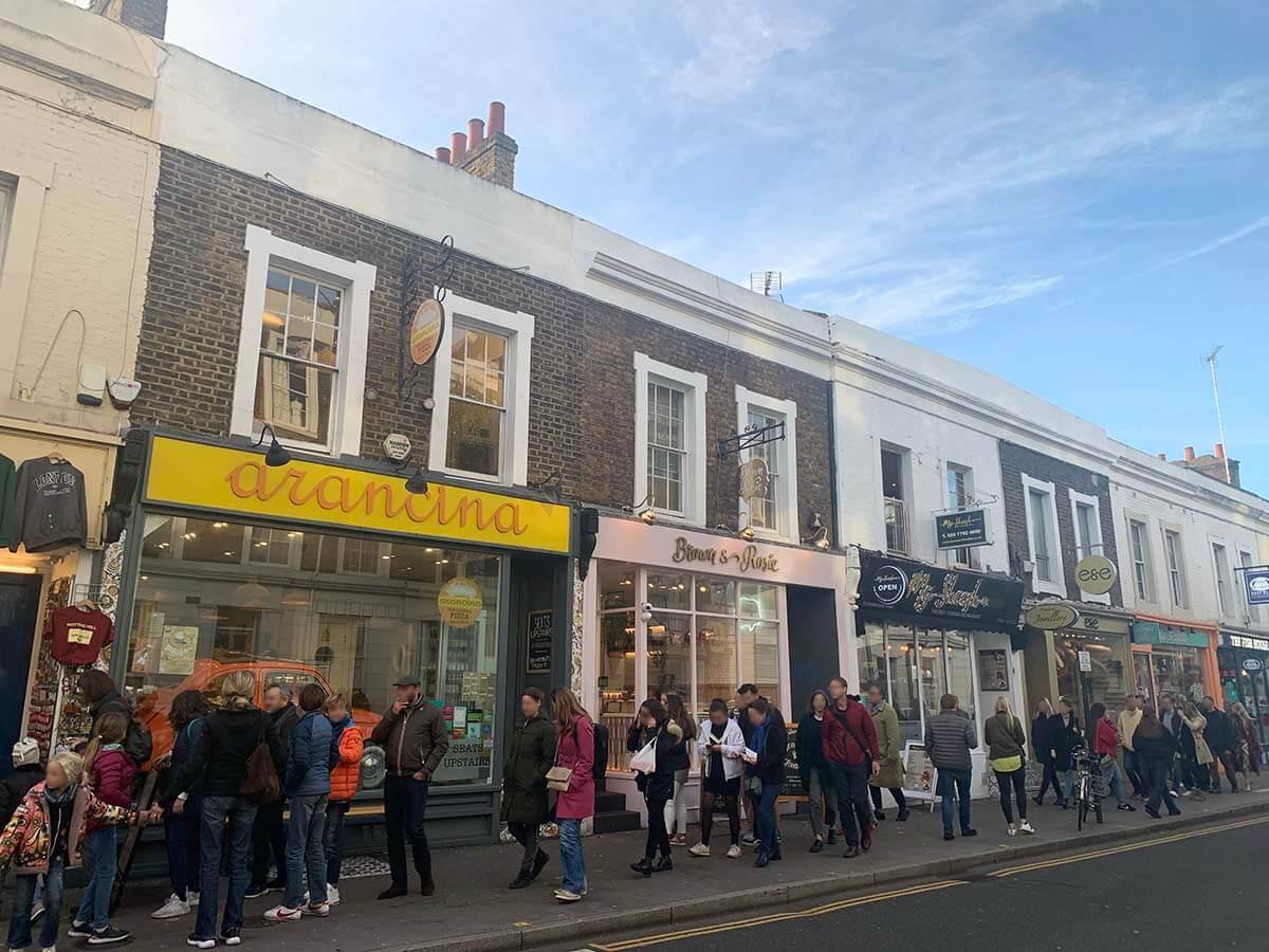 Notting Hill Gate(ノッティングヒルゲート)」駅周辺