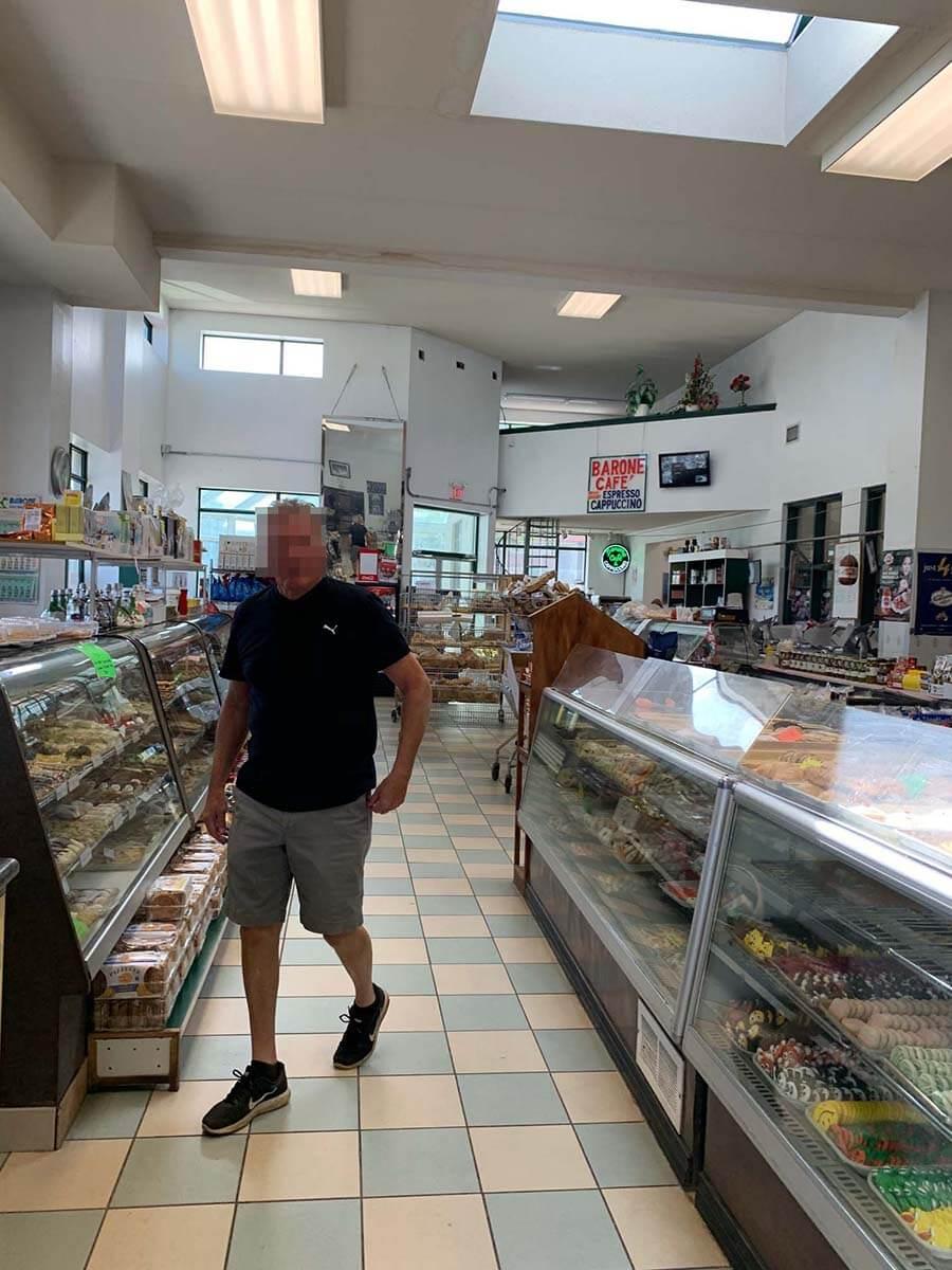 ナイアガラで大人気のポーテージベーカリー(Portage Bakery)の店内