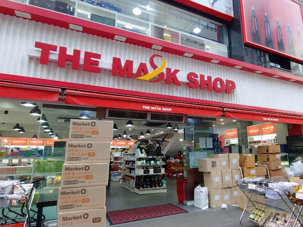 韓国「THE MASK SHOP」でコスメをまとめ買い♪東大門随一の品揃え!