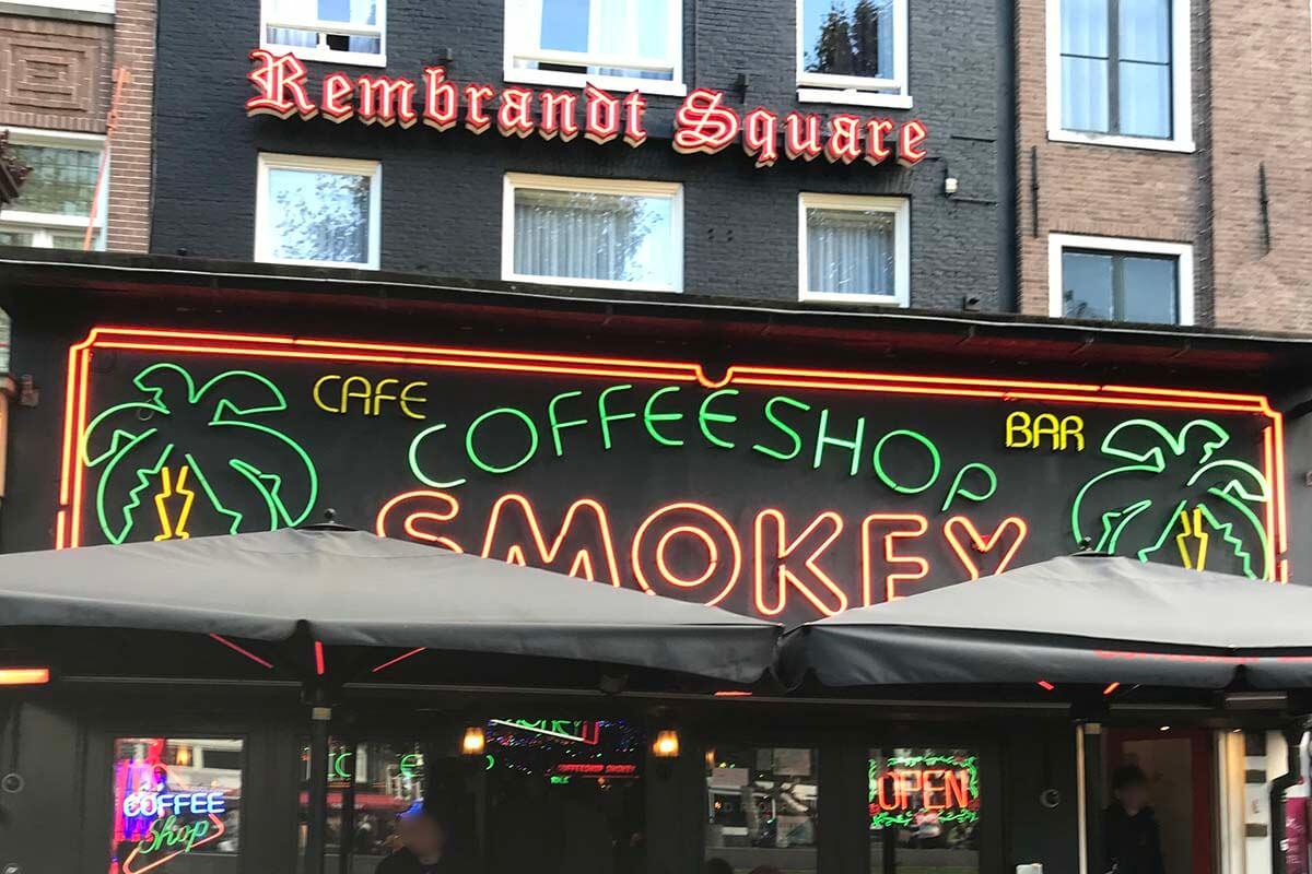 アムステルダムの「coffee shop」はcafeではない