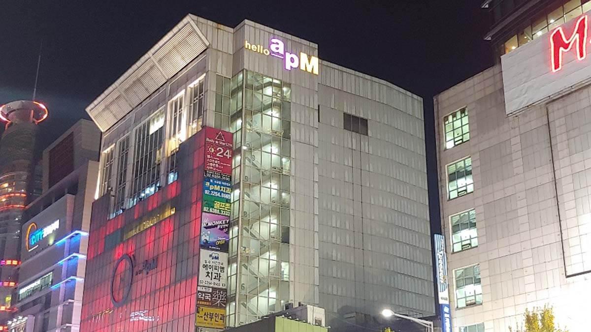 ソウル東大門でナイトショッピングhello apM(ハローエーピーエム)