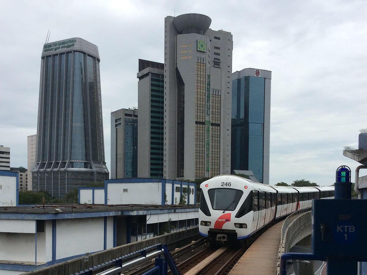 安くて便利!マレーシア都心部での電車移動の方法お教えします