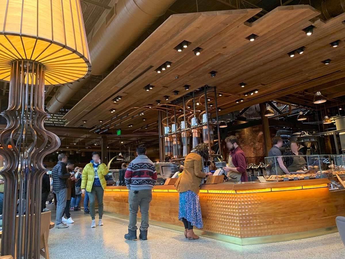 スターバックスリザーブロースタリー・シアトル(Starbucks Reserve Roastery Seattle)のメインバー