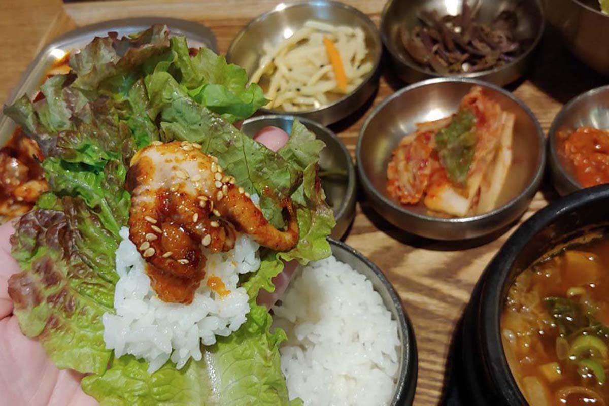 仁川空港での食事は絶対ココ!「家業食堂(カオプシクタン)」で本格韓国料理
