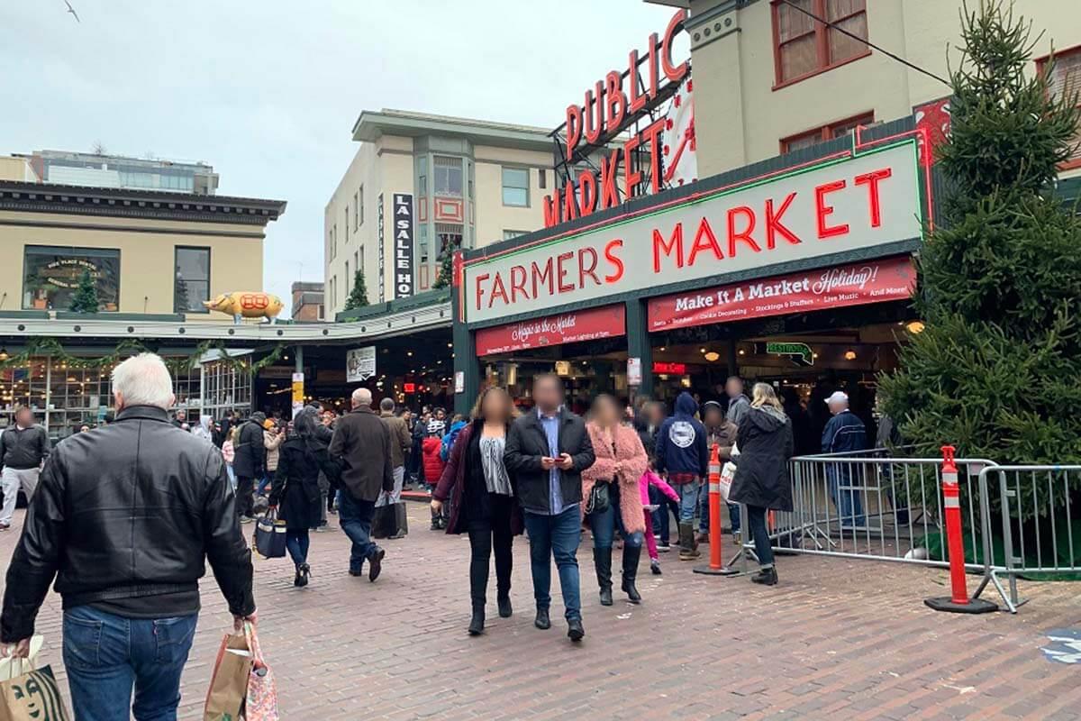 全米で最も歴史のあるシアトル「パイク・プレイス・マーケット」はシアトル市民の台所!