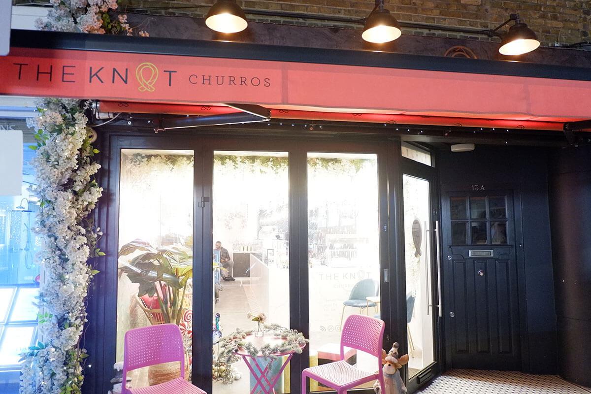 ロンドン「The Knot Churros」はインスタグラマーにも人気のチュロスカフェ